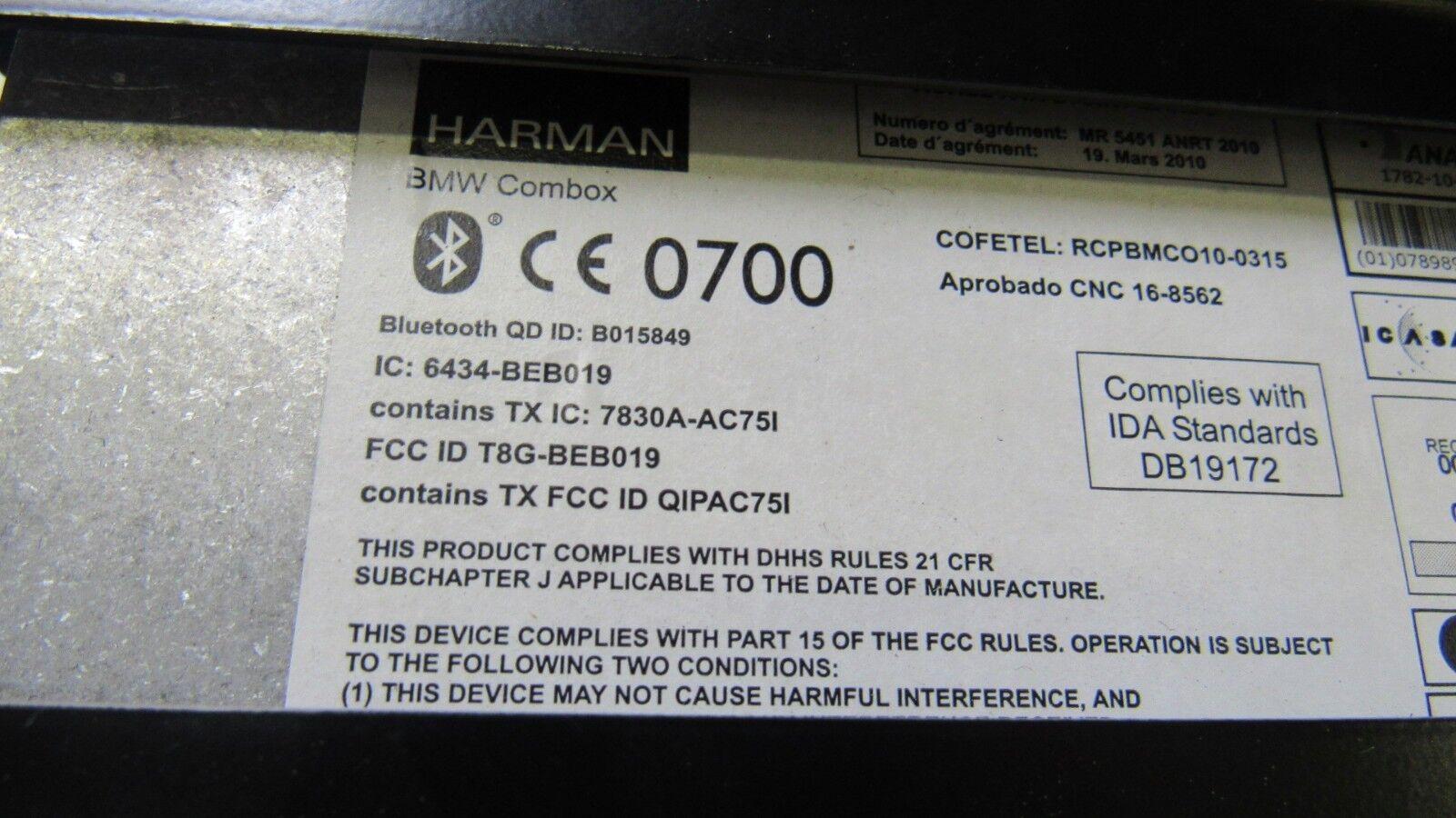 Used Bmw Controllers For Sale Page 12 F02 Fuse Box 528i 535i 550i F10 F30 F12 F01 F25 Oem Telematics Apps Combox 9257153