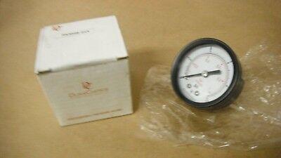 Durachoice Pa204b-015 Pressure Gauge 0-15 Psi 2 Od
