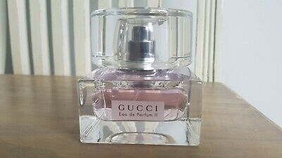 Gucci EDP II Spray 50ml No Box 100% AUTHENTIC Rare Discontinued Parfum Scannon