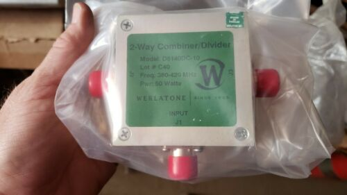 D6140DC WERLATONE RF RADIO FREQUENCY POWER DIVIDER  NSN 5985-01-526-9638