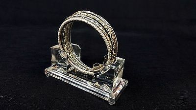 Lot Of 2 Top Quality Acrylic Bangle Display Stand Easel - New