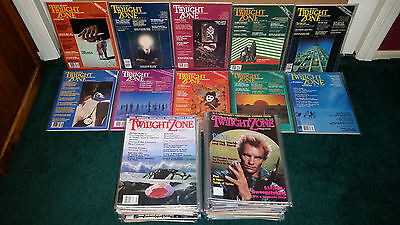 The Twilight Zone Magazine 58 Issues 1981-1988 Stephen King Straud Barker E.T. +
