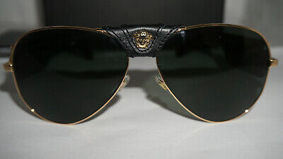 Versace New Sunglasses Gold Black Gray Green VE2150Q 100271 62 140