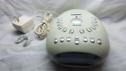 Conair SU7 Soothing Sounds & Relaxation Meditation Alarm Clock Radio