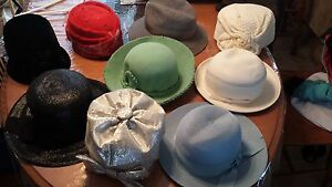 collection de chapeau antique