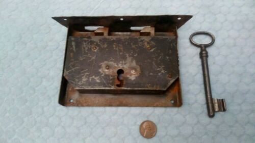 Chest Lock Wrought Iron 1800
