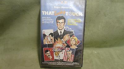 Trans World Entertainment That Lucky Touch Beta Max Video Vhs Dvd Film Movie