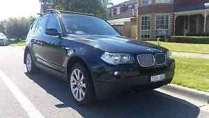 BMW X3 black auto diesel Beaumaris Bayside Area Preview