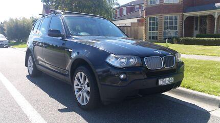 BMW X3 black auto diesel