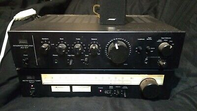 Sansui AU-317 & TU-317 Integrated Stereo Amplifier & Radio Tuner /Tested Working