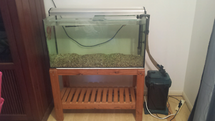 3ft Tank  & stand - complete set