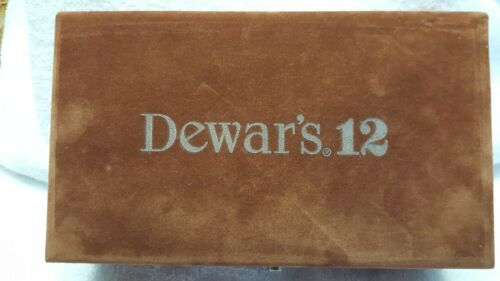 Dewars White Label Scotch Dominos set