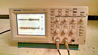 Tektronix Tds 210 60mhz Digital Oscilloscope Tds210