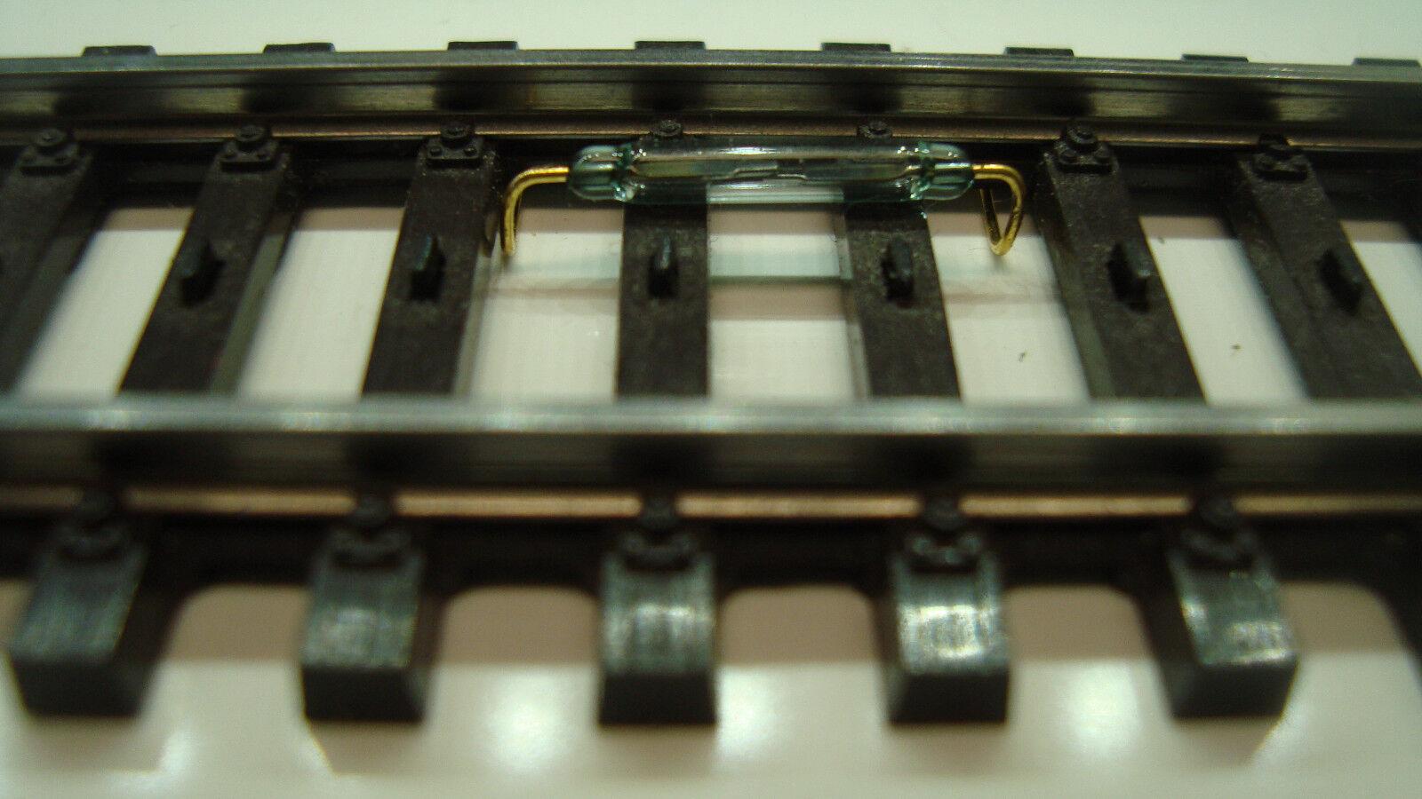 10 Stück Reedkontakt 13 mm x 2 mm Miniatur Reedschalter
