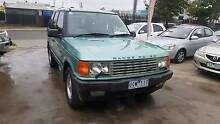 1998 Land Rover Range Rover Wagon HSE Auto LOW KMS V8 Williamstown North Hobsons Bay Area Preview