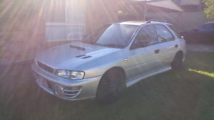 1997 Subaru Impreza WRX Wagon GF8 Brisbane City Brisbane North West Preview