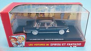 SPIROU-amp-FANTASIO-Voiture-Alfa-Romeo-2000-N-20-1-43-no-tintin