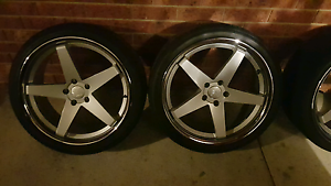 20 inch staggered hussla chase Rowville Knox Area Preview