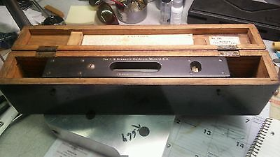 Starrett - Master Precision Machinists Level - Model 199 - 15inch