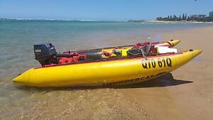 2006 4.1m Thundercat with 50hp Yamaha and trailer Woombye Maroochydore Area Preview
