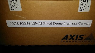 Axis Communication Inc 0467-001 P3354 12mm Indoor Fixed Dome