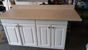 Cabinets with countertop