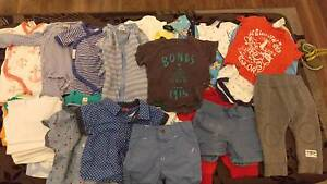 Baby boy clothes bundle 000, 00 and 0 Baldivis Rockingham Area Preview