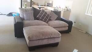 **Kingdom Large 2 Seater Sofa with Ottoman** Raymond Terrace Port Stephens Area Preview