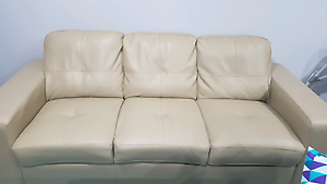 Bonded leather sofa pair for sale Cranbourne West Casey Area Preview
