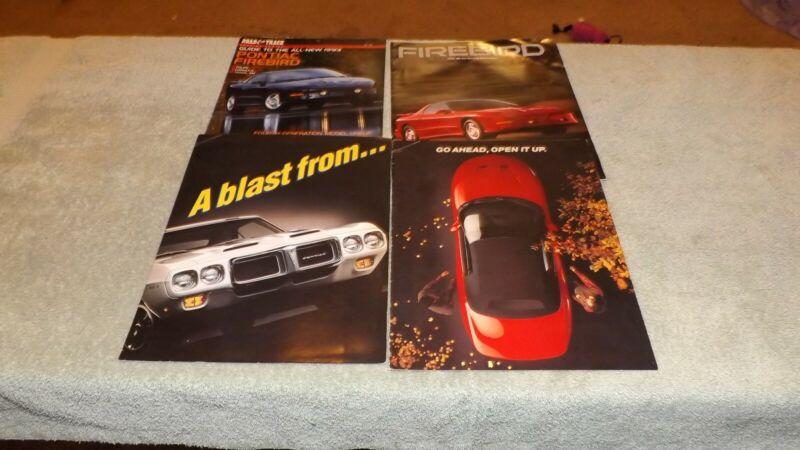 1993 Pontiac Firebird Original Dealer Literature