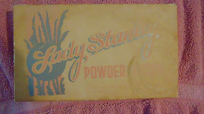 Vintage Lady Stanley Powder Mitten from Stanley Home Products Westfield Mass.