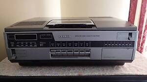 Sanyo BetaCord and Eight Track Player Yarra Junction Yarra Ranges Preview