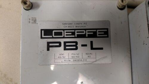 BOX, CONTROL PROJECTILE BRAKE PB-L LOEPFE 040956.010