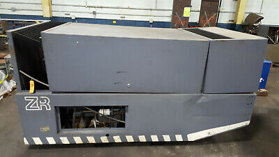 1536cfm Atlas Copco Zr275-125 349hp Motor Rotary Air Compressor 125psi Oil Free