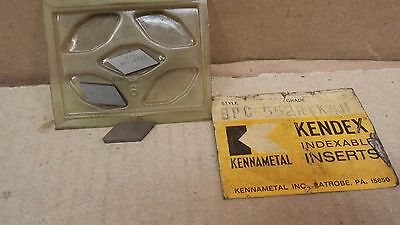 Lot of 3 Kennametal BPC 552 R K4H Carbide Inserts