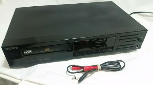 Vintage Sony CD Compact Disc Player | High Density Linear Converter | Tested