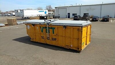 Storm-top Roll Off Container Cover- Removable Version Model St-8000-r