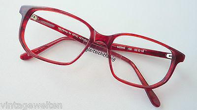 Mc Penny Herrenbrille 52-16 Brillenfassung rot günstig Kunststoff Vintage Gr. M
