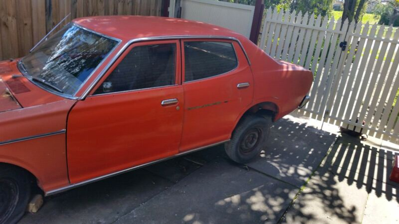 Wrecking Datsun 180 B