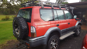 TOYOTA LANDCRUISER PRADO 99 4WD Tuggerah Wyong Area Preview
