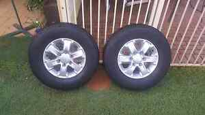 Ford Ranger Px XLS- 4 X Wheels and tyres Redland Bay Redland Area Preview