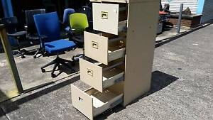 AUSTRALIAN NAMCO 4 DRAWER METAL FILING CABINET*LOCKING WITH KEY Cartwright Liverpool Area Preview