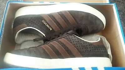 Adidas Munchen UK7. Brown suede. 2007 issue. Deadstock.OG Box. Not London Malmo.