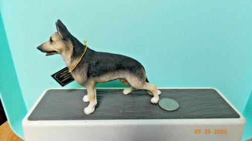 German Shepherd Tan/Black Dog Figure