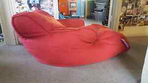 Red armchair beanbag Heckenberg Liverpool Area Preview