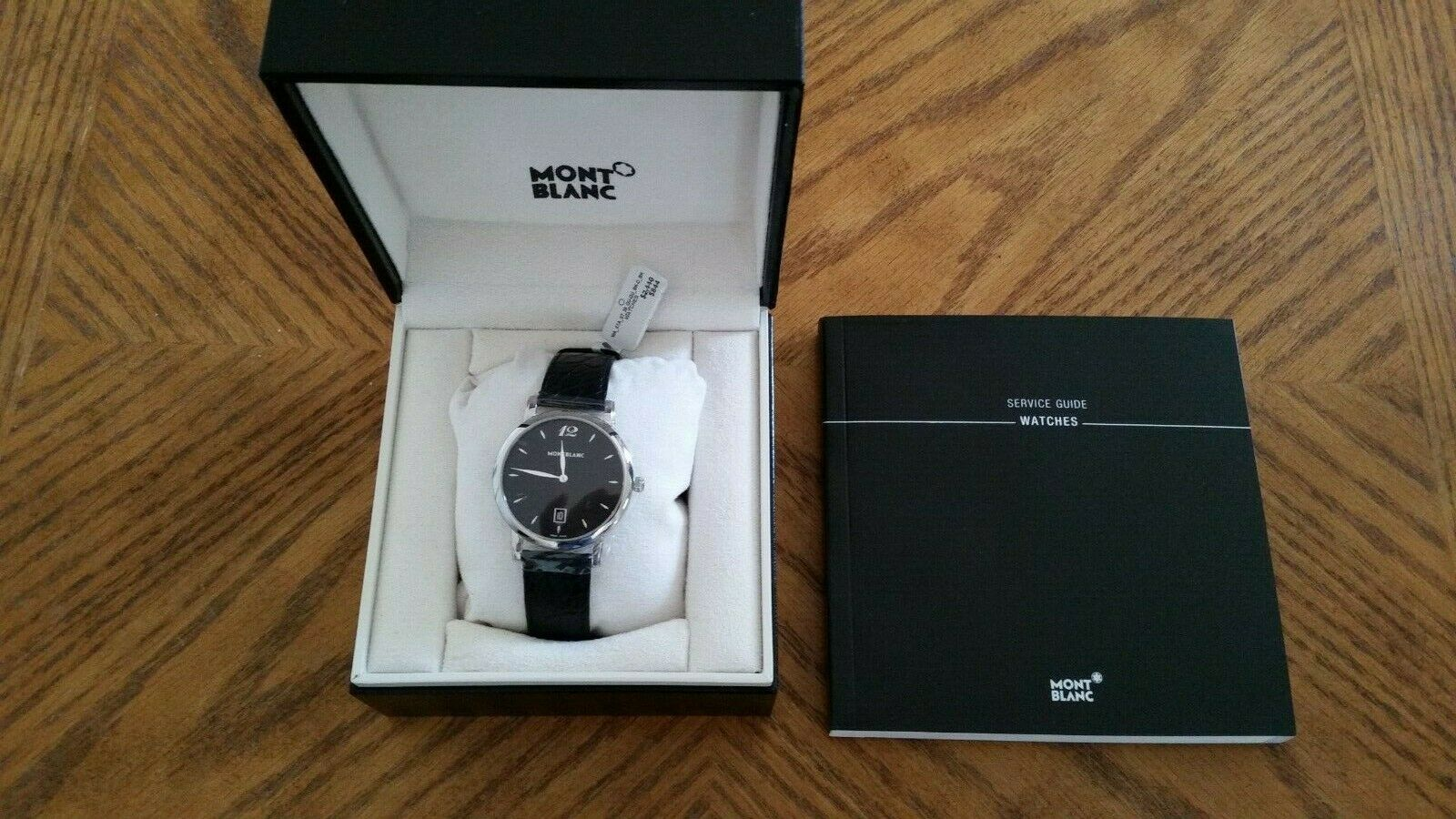Montblanc Star Large 7239 Wrist Watch