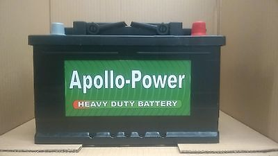 Citroen Berlingo All Diesel 1996 Onwards NEW CAR BATTERY 096 Apollo Power