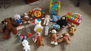 Huge bundle of toys in excel. cond. over $125 when new