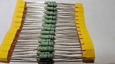100 Piece 100 K Ohm 12 Watt Flame Proof Resistor Usa Seller Free Shipping
