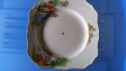 vintage English china plates Tumbi Umbi Wyong Area Preview